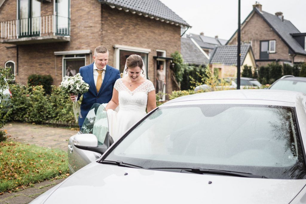 Het ophalen van de bruid
